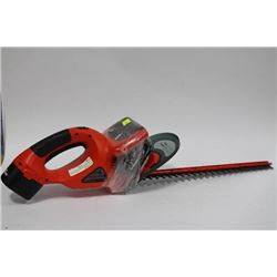 BLACK & DECKER RECHARGEABLE HEDGE TRIMMER