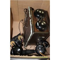 NORTHERN ELECTRIC CRANK WALL PHONE