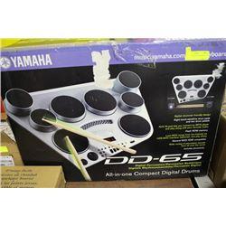 YAMAHA DIGITAL DRUMS DD-65