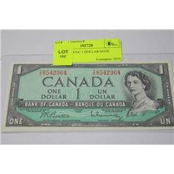 1954 GEM UNC 1 DOLLAR NOTE