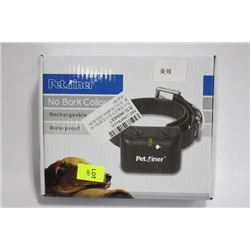 RECHARGEABLE WATERPROOF ANTI-BARK COLLAR