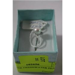 .925 SILVER FRESHWATER PEARL RING