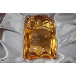 LARGE GERMAN BAVARIAN CRYSTAL OWL