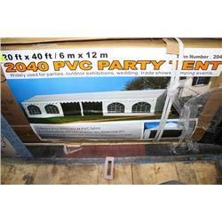NEW 20' X 40' PVC PARTY TENT