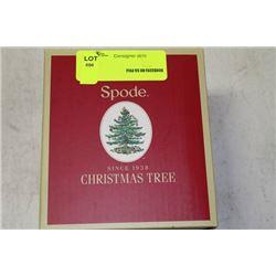 SPODE CHRISTMAS TREE MUG W INFUSER
