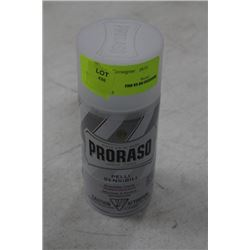 CAN OF PRORASSO SHAVING FOAM