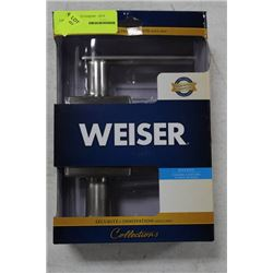 NEW WEISER BED AND BATH HANDLE SET (089)