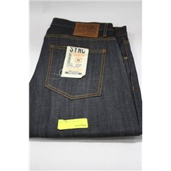 PAIR OF DENIM SYNC JEANS SIZE 36