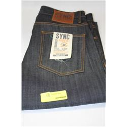 PAIR OF DENIM SYNC JEANS SIZE 30