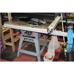 DELTA CONTRACTOR'S TABLE SAW
