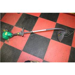 WEEDEATER MAX GAS TRIMMER
