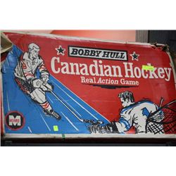 VINTAGE BOBBY HULL REAL ACTION HOCKEY GAME