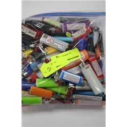 BAG OF LIGHTERS AS THEY COME
