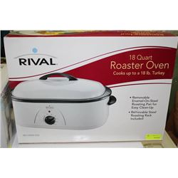 RIVAL 18QT ROASTER OVEN
