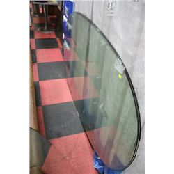 NEW LARGE OVAL GLASS TABLETOP