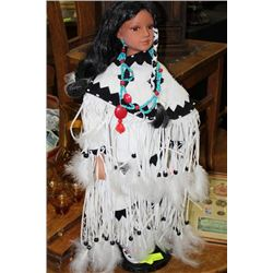 NATIVE COLLECTOR DOLL