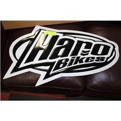 'HARO BIKES' METAL SIGN