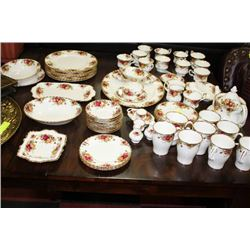 LARGE COLLECTION OF ROYAL ALBERT OLD COUNTRY