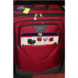 NEW CANADIAN TOURISTER 3 PC LUGGAGE SET :  RED