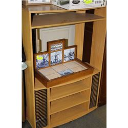 COMBO TV STAND ENTERTAINMENT CENTER