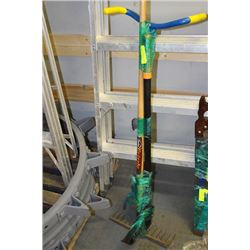 GRIZZLY RAKE, THE CLAW GARDEN CULTIVATOR & FISKERS