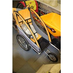 CCM JOGGING & CYCLING STROLLER COMES WITH