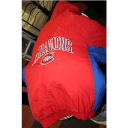 MONTREAL CANADIENS SIZE L JACKET