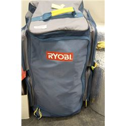 RYOBI 4 MAN TENT INCLUDES CARRYING BAG WITH WHEELS