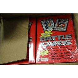 1 CASE OF 12 BOXES OF MERLIN BATTLE CARDS