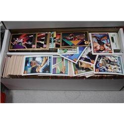 BOX OF OVER 1400 1991 SPORTS CARDS