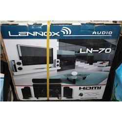 LENNOX LN-70 3D SOUND SURROUND SYSTEM