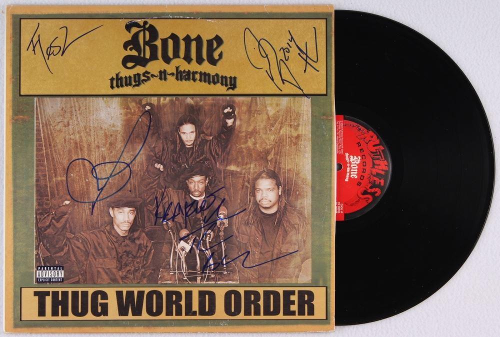 Bone Thugs-n-Harmony Band-Signed