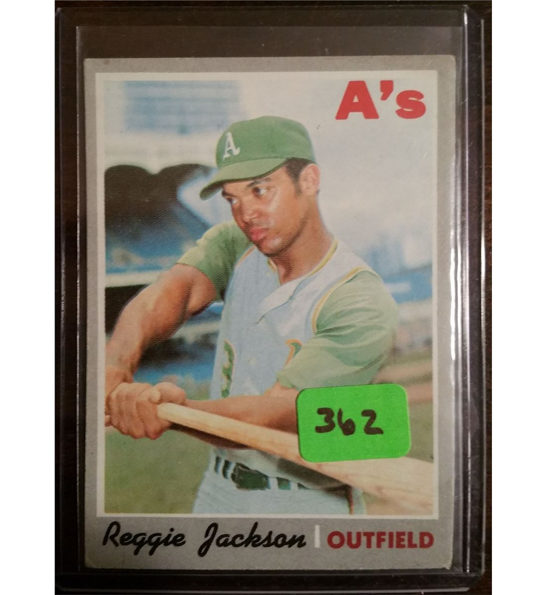 1970 Topps Reggie Jackson 2nd Year Card 140