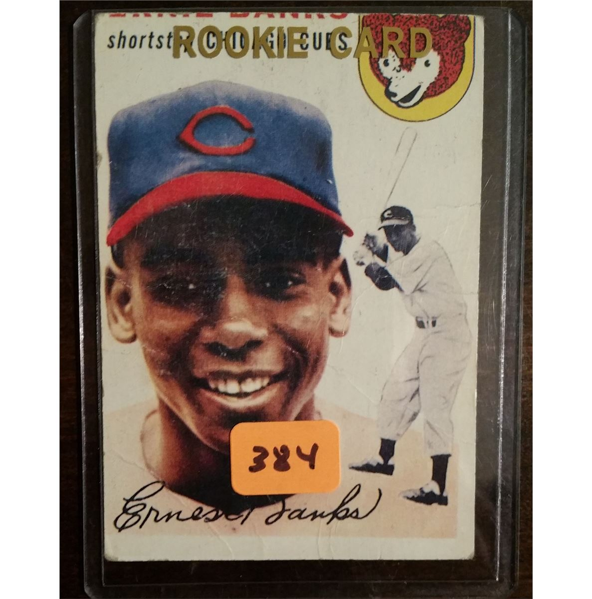1954 Topps Ernie Banks Rookie Card 94