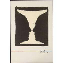 Jasper Johns Art Print Cup 2 Picasso, 1973