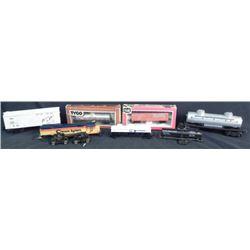1 Lot of 7 Lionel/Tyco/LifeLike Train Cars Shell Tanker