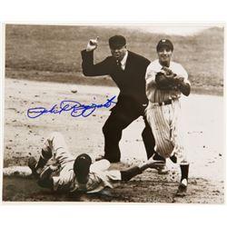Signed Phil Rizzuto New York Yankees 8 x 10 Photo COA