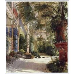 Carl Blechen Tropical Art Print The Palm House