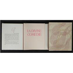 Dali Dante Divine Comedy Portfolio w/ Text -Purgatoire