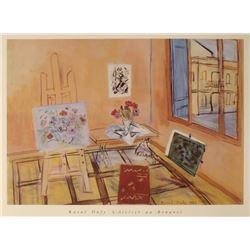 Raoul Dufy Art Print L'Atelier au Bouquet