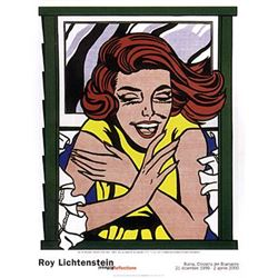Roy Lichtenstein Modern Art Print Girl at Window