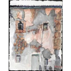 Betty Snyder Rees Original Painting Italy House