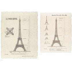 Yves Poinsot La Tour Eiffel and Exposition Paris 1889