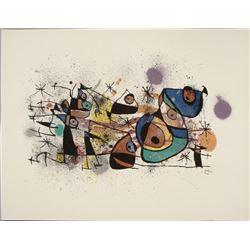 Joan Miro : Peintures Modern Art Print