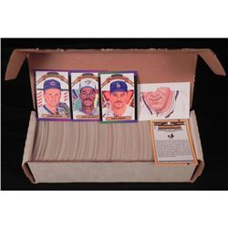 1989 Donruss Complete Baseball Card Set 660 Cards
