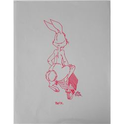 Winnie the Pooh Original Signed Drawing Mike Royer
