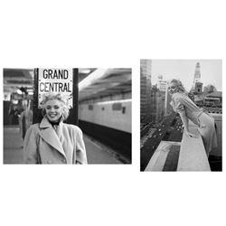2 Ed Feingersh Photo Prints Marilyn Monroe in New York