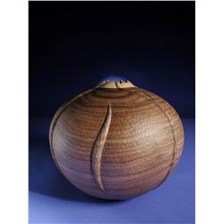 Walnut Vessel by John Jordan