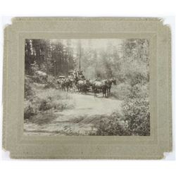 Original cabinet card photo of the Sylvan Lake