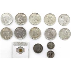 Collection of 24 coins includes (10) 1922